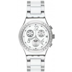 Swatch Unisex Watch Irony Chrono Dreamwhite YCS511GC