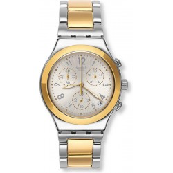 Swatch Unisex Watch Irony Chrono Dreamnight Golden YCS590G