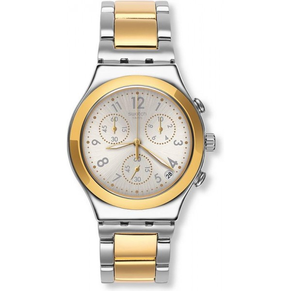 Buy Swatch Unisex Watch Irony Chrono Dreamnight Golden YCS590G