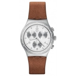 Buy Swatch Men's Watch Irony Chrono Botillon YCS597
