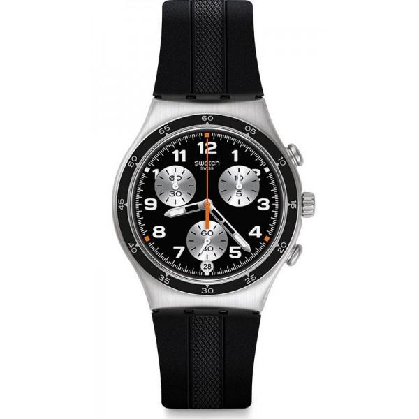 Buy Swatch Men's Watch Irony Chrono Apres Vous YCS598