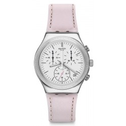 Swatch Women's Watch Irony Chrono Sweet Madame YCS599