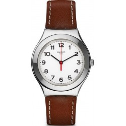 Swatch Unisex Watch Irony Big Strictly Silver YGS131