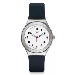 Swatch Unisex Watch Irony Big Black Reflexion YGS135