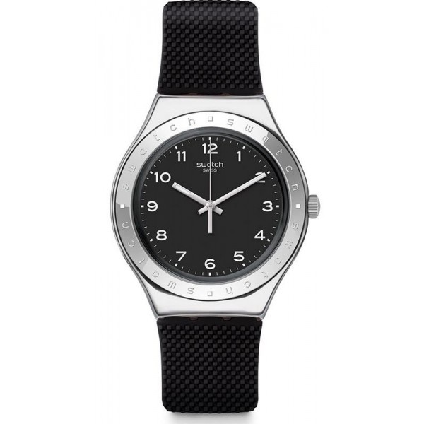 Buy Swatch Men's Watch Irony Big Charbon YGS137
