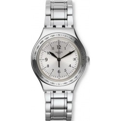 Swatch Unisex Watch Irony Big Silver Joe YGS471G