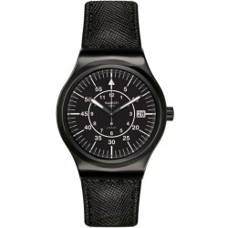 Swatch Men's Watch Irony Sistem51 Sistem Slate Automatic YIB400