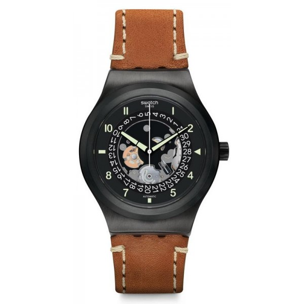 Buy Swatch Men's Watch Irony Sistem51 Sistem Thought Automatic YIB402