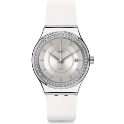 Swatch Women's Watch Irony Sistem51 Sistem Snow Automatic YIS406