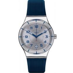 Swatch YIS409 Irony Sistem 51 Sistem Navy Automatic Unisex Watch