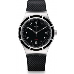 Swatch Men's Watch Irony Sistem51 Sistem Dark Automatic YIS413