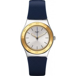Swatch Women's Watch Irony Medium Blue Push YLS191