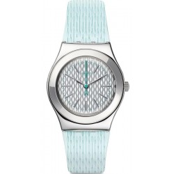 Swatch Women's Watch Irony Medium Mint Halo YLS193