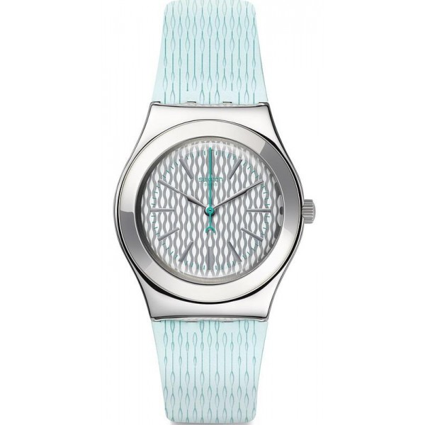 Buy Swatch Women's Watch Irony Medium Mint Halo YLS193