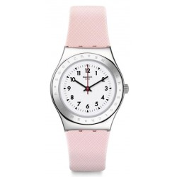 Swatch Women's Watch Irony Medium Pink Reflexion YLS200