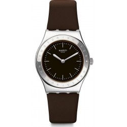 Swatch Women's Watch Irony Medium Lie De Vin YLS205