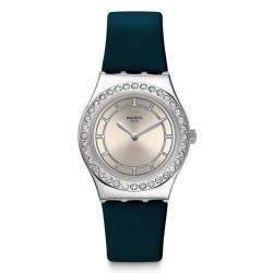 Swatch Women's Watch Irony Medium Bluechic YLS211
