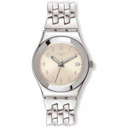 Swatch Women's Watch Irony Medium Follow Ways Cream YLS441G