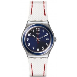 Swatch Women's Watch Irony Medium Vela Bianca YLS449