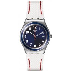 Swatch YLS449 Irony Medium Vela Bianca Women's Watch