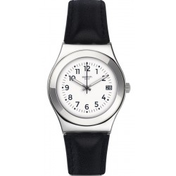 Swatch Women's Watch Irony Medium Licorice YLS453