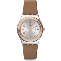 Swatch Women's Watch Irony Medium Caresse d'Été YLS458