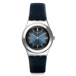 Swatch Women's Watch Irony Medium Bluflect YLS460