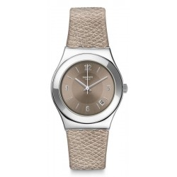 Swatch Women's Watch Irony Medium Justsand YLS467