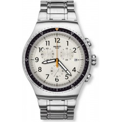 Swatch Men's Watch Irony Chrono Minimalis-Tic YOS453G