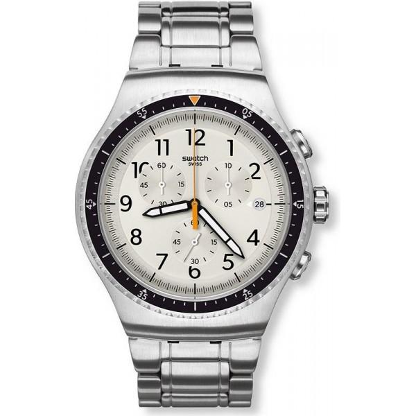 Buy Swatch Men's Watch Irony Chrono Minimalis-Tic YOS453G