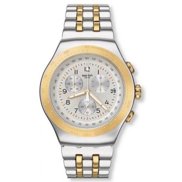Buy Swatch Unisex Watch Irony Chrono Live My Time YOS458G