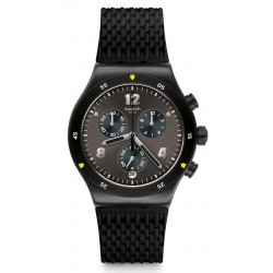 Swatch Men's Watch Irony Chrono Darkbark YVB406