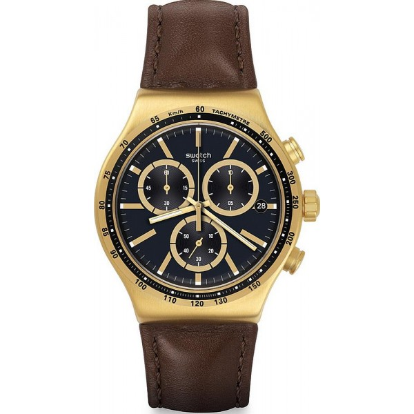 Buy Swatch Men's Watch Irony Chrono V'Dome YVG401