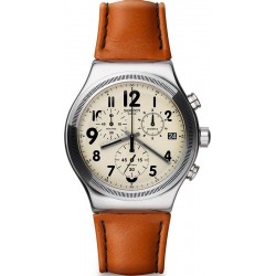 Swatch Men's Watch Irony Chrono Leblon YVS408