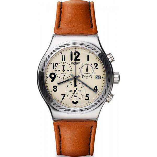 Buy Swatch Men's Watch Irony Chrono Leblon YVS408
