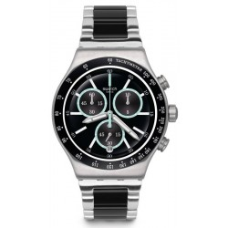 Buy Swatch Men's Watch Irony Chrono Ironfresh YVS434G