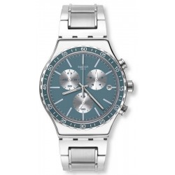 Swatch Unisex Watch Irony Chrono Ironfreeze YVS438G