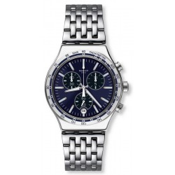 Buy Swatch Men's Watch Irony Chrono Dress My Wrist YVS445G