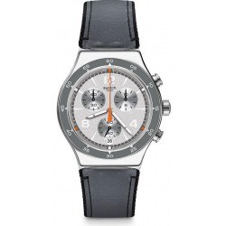 Buy Swatch Men's Watch Irony Chrono Last Round YVS446