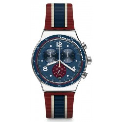 Swatch Unisex Watch Irony Chrono College Time YVS449
