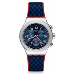 Swatch Men's Watch Irony Chrono Secret Operation YVS452