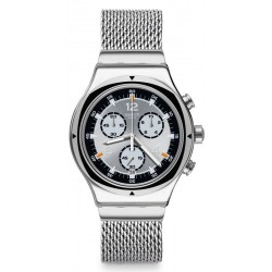 Swatch Unisex Watch Irony Chrono TV Time YVS453M