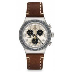 Buy Swatch Men's Watch Irony Chrono Rhum YVS455