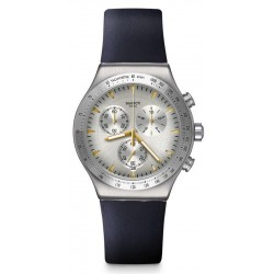 Swatch Unisex Watch Irony Chrono Darkmeblue YVS460