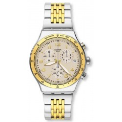 Swatch Unisex Watch Irony Chrono Casual Chic YVS467G