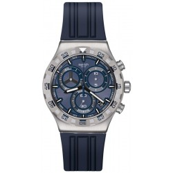 Swatch Men's Watch Irony Chrono Teckno Blue YVS473