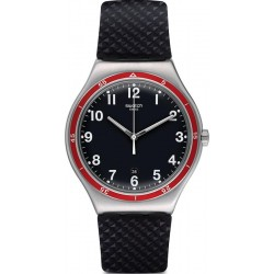 Swatch Men's Watch Irony Big Classic Red Wheel YWS417