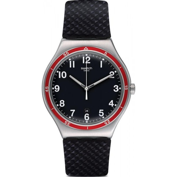 Buy Swatch YWS417 Irony Big Red Wheel Men's Watch