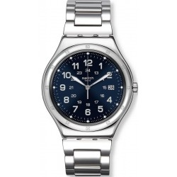 Swatch Men's Watch Irony Big Classic Blue Boat YWS420G
