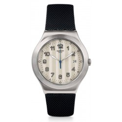 Swatch Men's Watch Irony Big Classic Côtes Silver YWS437